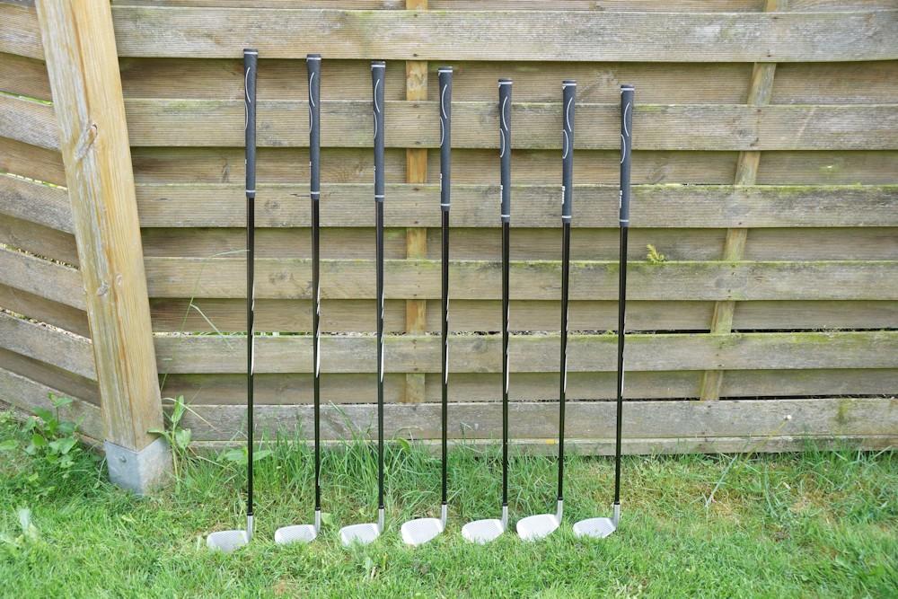 Golfschläger mit unterschiedlicher Länge